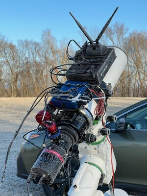 Chilly imaging rig
