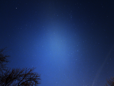 Wide shot of Cassiopeia and surrounding area