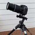Nikon D7000 (unmodified), with Nikkor AF-S DX 18-140mm f/3.5-5.6 G ED VR zoom lens and sturdy camera tripod