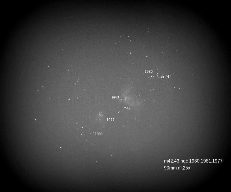 M42,43,ngc 1974,77,80,81