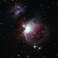 M42 and M43, Orion and Running Man