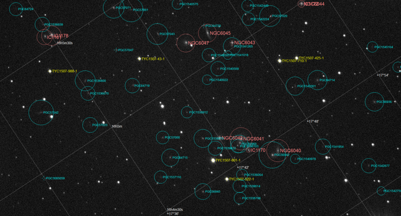 NGC6045 Stack 30frames 240s WithDisplayStretch Annotated