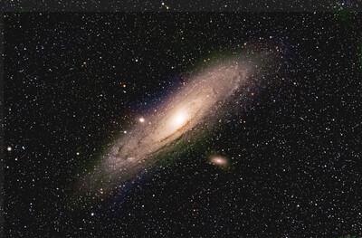 Andromeda Galaxy - Nikon D800e - LPS D2
