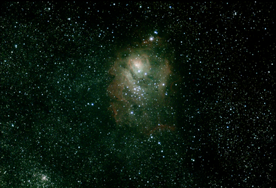 M8 Lagoon Nebula - AT80ED