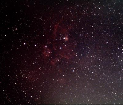 NGC 6357 Lobster Nebula AT80ED w/DGM NPB