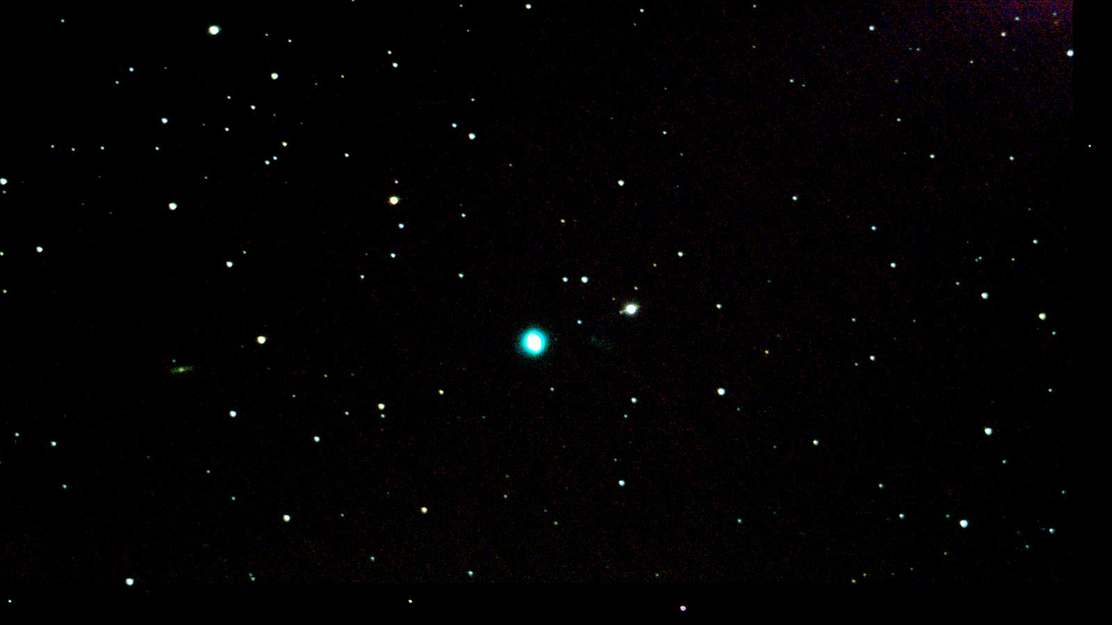 NGC 6543 (Cat's Eye Nebula) Stack 47frames 705s- North UP