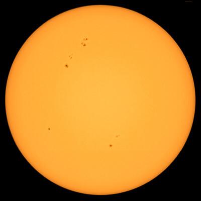 Sunspot activity 7 September 2021