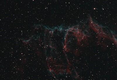 IC 1340, The Bat Nebula