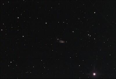 NGC 5394 / 5395, The Heron