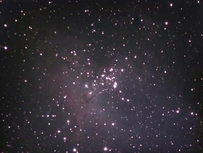 Eagle Nebula, 10m, Bortle 9