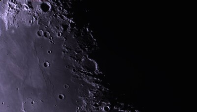 Moon 3/ 2021 Apollo 11 site, Ritter and Sabine