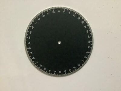 Meade setting circle
