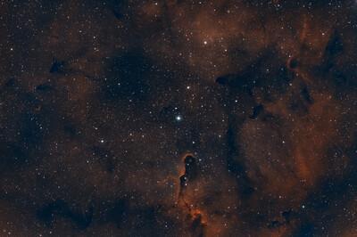 LBN 451 Elephants Trunk Nebula