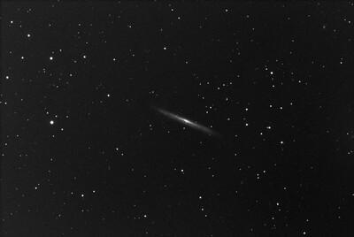 NGC5907 1, 2021 07 25, 5x300L, EQMod Mount, ZWO ASI183MC Pro stacked