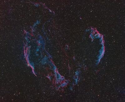 Veil Nebula in OSH