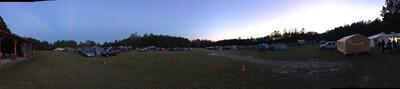 Peach State Star Gaze Panorama