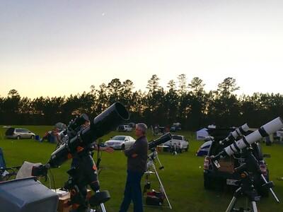 Explore Scientific at the Peach State Star Gaze