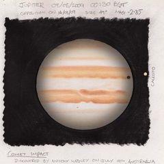 Jupiter 2009 08 09 Wesely Impact scar