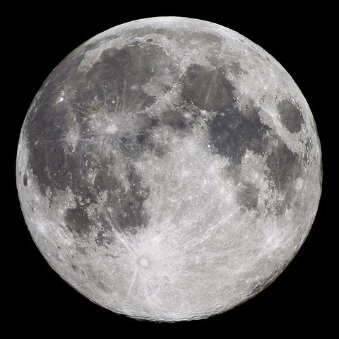 Full Moon with AT72ED