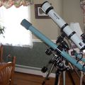 Meade LXD75 AR5 with  Sears 76mm
