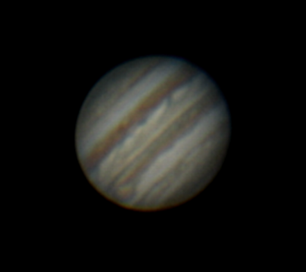 Jupiter and GRS - 24 Mar 2006
