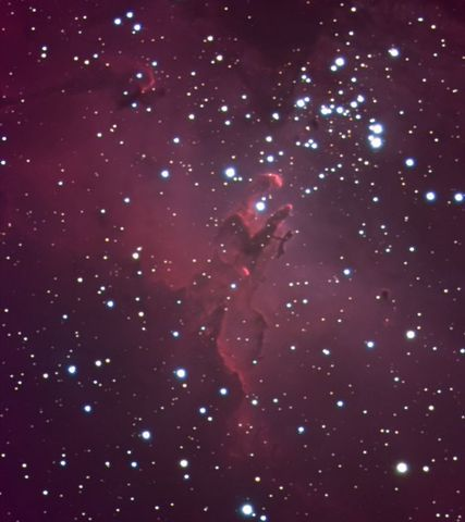 M16 - Eagle Nebula  (Pillars of Creation)