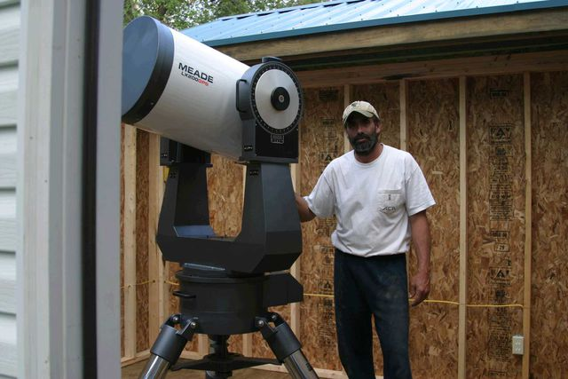 Scott in the New Observatory