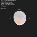 Mars August 09, 2020