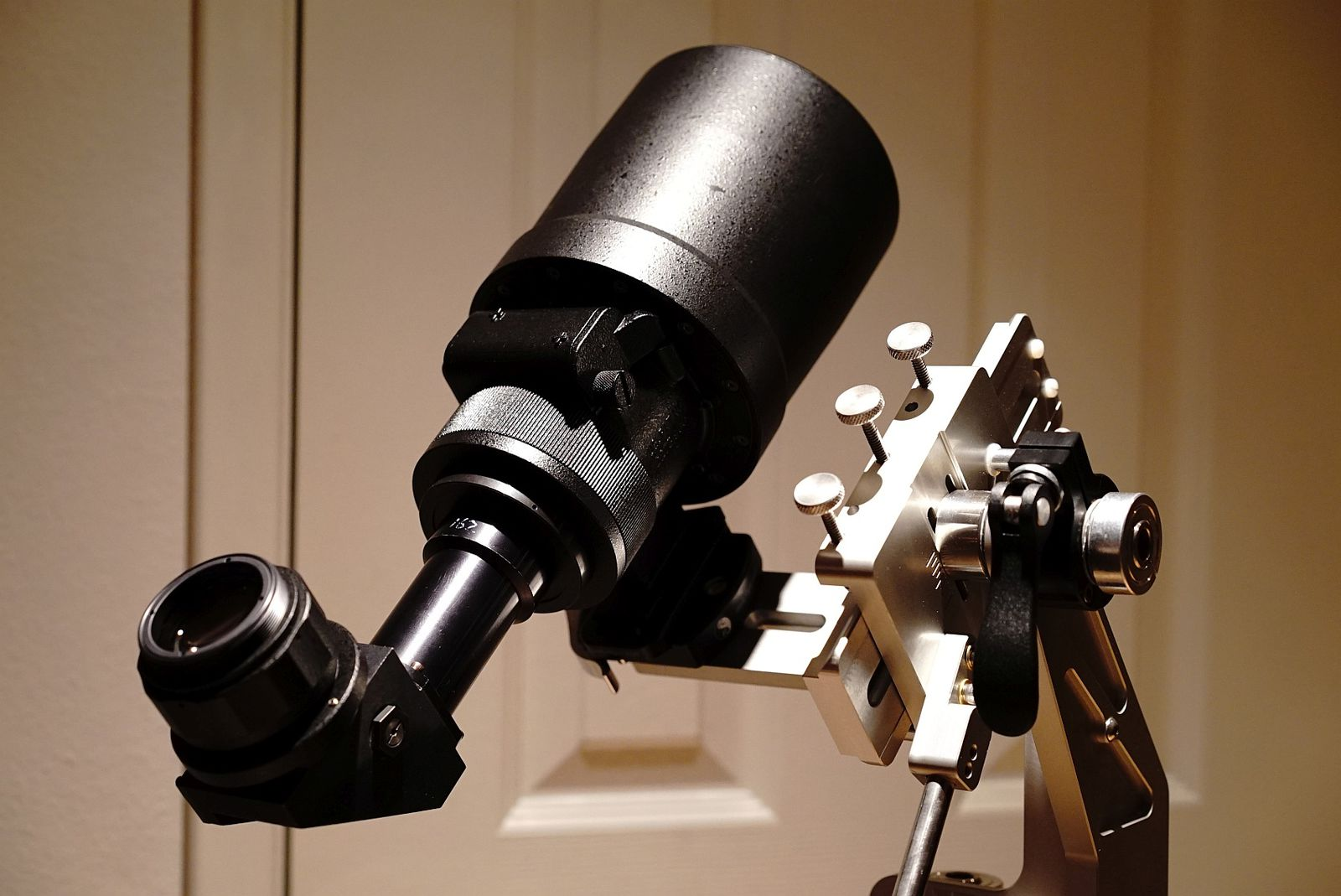 Star tron mk428 lr170 lens with right angle relay and eyepiece on