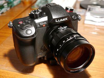 Panasonic GH5S w Voigtlander Nokton 42.5mm/f0.95 Lens