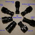 Various Relay Lenses designed for 18mm image intensifier photography / videography