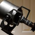 Star-Tron MK428/LR300 Lens (300mm/t1.9) with improvised relay lens and Sony Camera