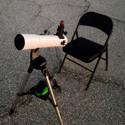 AR102S Set Up For observing 500