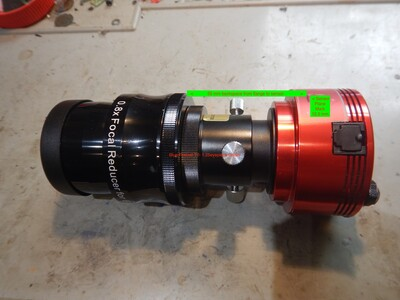 AstroTech .8FR 55mm spacing