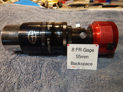 AstroTech .8FR Gage And 1.6 extension assy