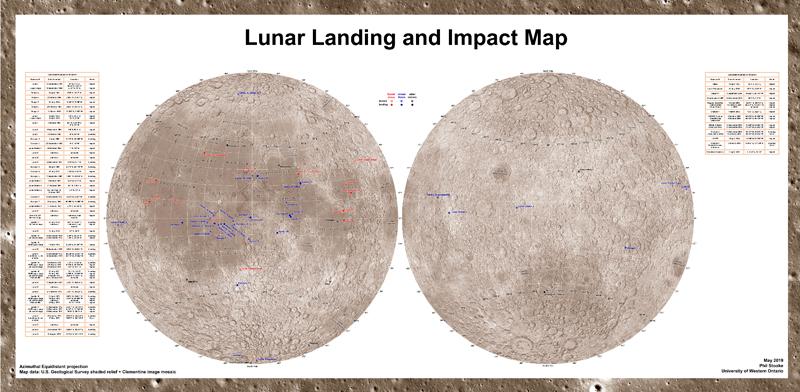 LanderImpactMaps