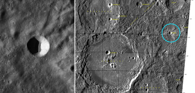 Easley crater On The Moon