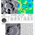 Pictet And Odd cylindrical bright feature Off To Its southwest