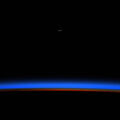 Moonrise At Sunrise ISS AstronautChristinaKock