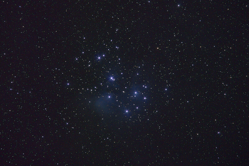 The Pleiades (M45) w/300mm & Astrotracer