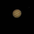 """Jupiter w 12"""" sct,hand held point and shoot,single image no stacking  12mm brandon afocal"""