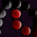 Lunar Eclipse Sequence 4 3 2015 0300 hours through 0500 hours