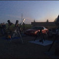 Some of us before sunset, Sacramento Valley Active Astronomers. Feb 2014