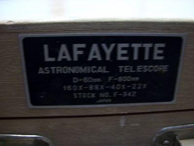New lafayette 9