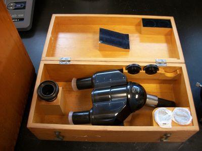 Ziess microscope. 8