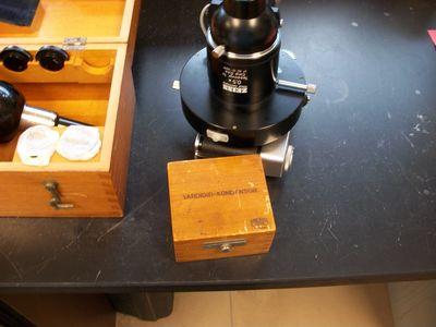 Ziess microscope. 7