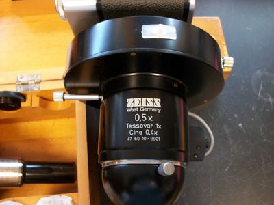 Ziess microscope. 5