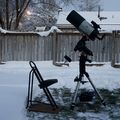 Another balmy night for astronomy
