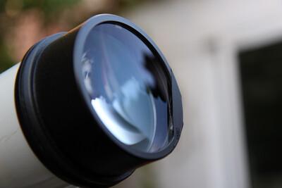 97 Vixen ED80S blocking chipped lens