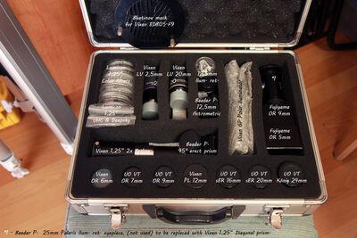 71 Vintage eyepiece case